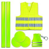 Zinc Style-A-Ride Reflective Safety Set