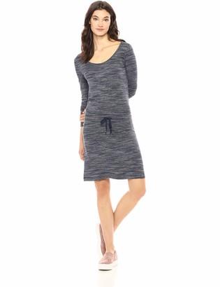 Daily Ritual Amazon Brand Women's Supersoft Terry Drawstring Waist Dress