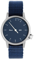 Miansai M24 Stainless Steel Watch with Nylon Strap, Navy