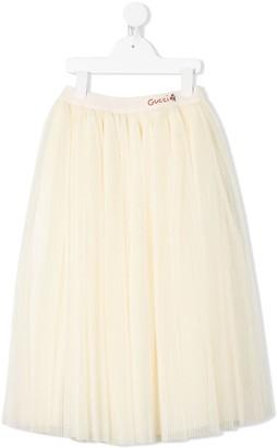 Gucci Kids Tulle Skirt