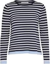 Only Suzana Stripe Long-Sleeve Sweater