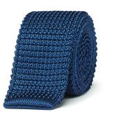 Lanvin - 5cm Knitted Silk Tie