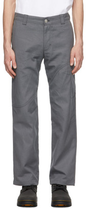 EDEN power corp Grey Corp Cargo Pants
