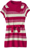 It's Our Time Girls 7-16 Splitneck Striped Sweater Tunic