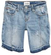 Hudson Release Hem Distressed Denim Shorts