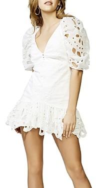 Bardot Margot Cotton Mini Dress