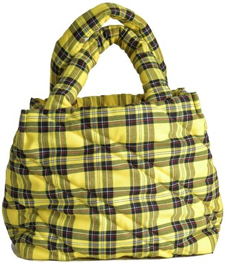 Mimii Aya Big Yellow Tartan Bag