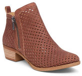 Lucky Brand Zipped Perforated Leather Booties