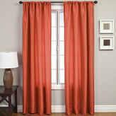 JCPenney SOFTLINE HOME FASHIONS Napa Faux-Silk Rod-Pocket Curtain Panel