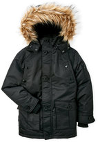 Diesel Boys 8-20) Vestee Faux Fur Trim Hooded Parka