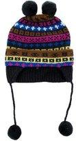 Little Marc Jacobs Girls' Wool Patterned Beanie w/ Tags