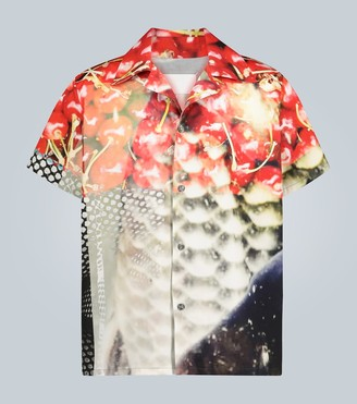 Maison Margiela Cherry printed short-sleeved shirt