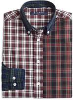 Brooks Brothers Boys' Oxford Fun Mixed-Plaid Shirt - Big Kid