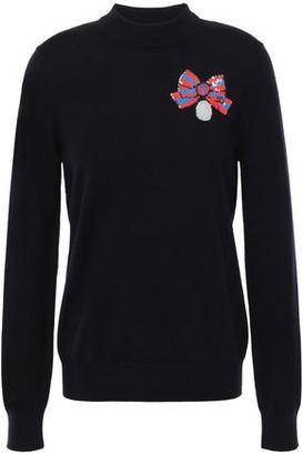Markus Lupfer Mia Sequin-embellished Merino Wool Sweater