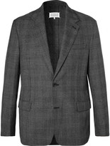Maison Margiela - Grey Prince Of Wales Checked Woven Suit Jacket