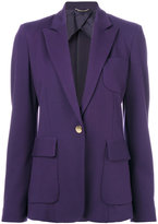 Les Copains classic fitted blazer - women - Polyamide/Polyester/Spandex/Elastane/Wool - 44