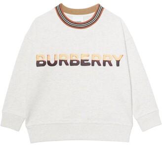 Burberry Kids Logo Print Sweatshirt (3-12 Years)