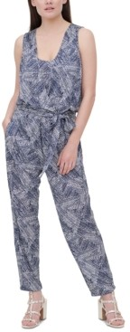 DKNY Printed Jumpsuit