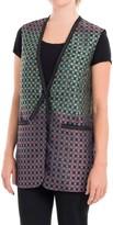 Max Studio Jacquard Vest