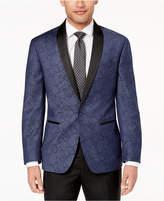 Ryan Seacrest Distinction Ryan Seacrest DistinctionTM Men's Modern-Fit Navy Paisley Dinner Jacket, Created for Macy's