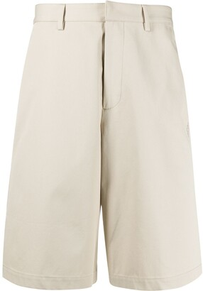 Marcelo Burlon County of Milan Wide-Leg Bermuda Shorts