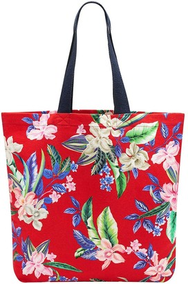 Pour Moi? Canvas Beach Bag - Multi