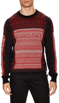 Christian Dior Intarsia Crewneck Sweater