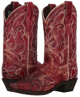 Laredo No More Drama (Red) Cowboy Boots