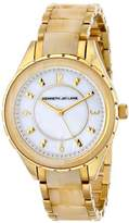 "Kenneth Jay Lane Women's 2242 ""2200 Series"" Stainless Steel and Horn Resin Watch"