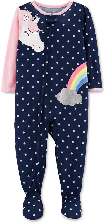 Carter's Carter Baby Girls Unicorn Pajamas