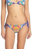 Trina Turk 'Tapestry' Side Tie Bikini Bottoms