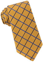 Black Brown 1826 Microdot Grid Silk Tie