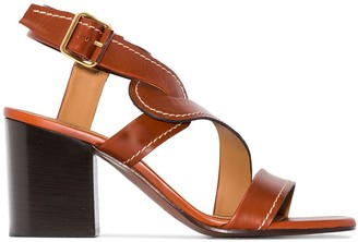 Chloé Candice 70mm sandals