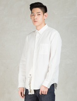 Phenomenon White L/S Big Tag Shirt