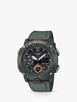 Casio Men's G-Shock Chronograph Day Resin Strap Watch