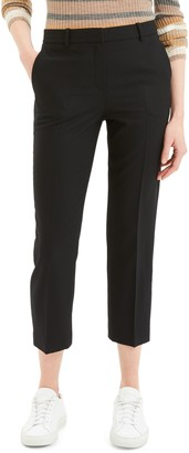 Theory Crop Wool Trousers