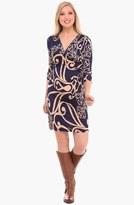 Olian Cross Front Maternity Dress