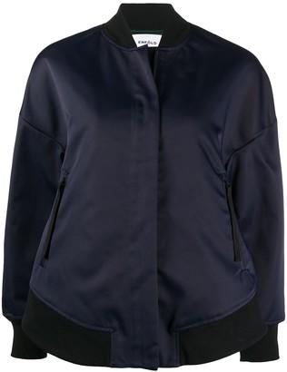 Enfold Zipped Bomber Jacket