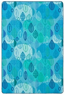 Carpets for Kids Pixel Perfect Peaceful Spaces Tufted Aqua/Green Rug Rug Size: Rectangle 8' x 12'