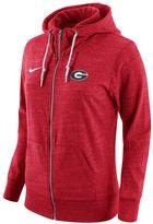 Nike Women's Georgia Bulldogs Gym Vintage Fleece Hoodie