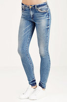 True Religion Halle Mid Rise Super Skinny Womens Jean
