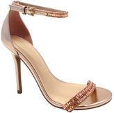 Wild Diva Rose Gold Glitter Adele Sandal