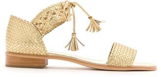Sarah Chofakian Sule flat sandals