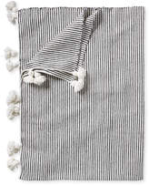 Serena & Lily Casablanca Vintage Stripe Throw