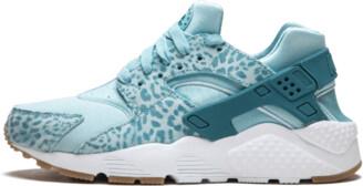 Nike Huarache Run SE GS 'Cheeta Chic' Shoes - 4.5Y