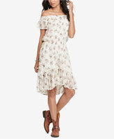 Denim & Supply Ralph Lauren Floral-Print Off-The-Shoulder Dress