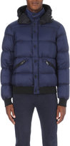 Armani Jeans Hooded Quilted Shell Jacket