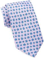 Tailorbyrd Flowers Silk Tie