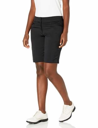 """PGA TOUR Women's Plus Size Motionflux 19"""" Tech Short with Comfort Stretch"""