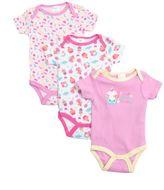 Baby Gear Baby Girl Print 3-pk. Bodysuits